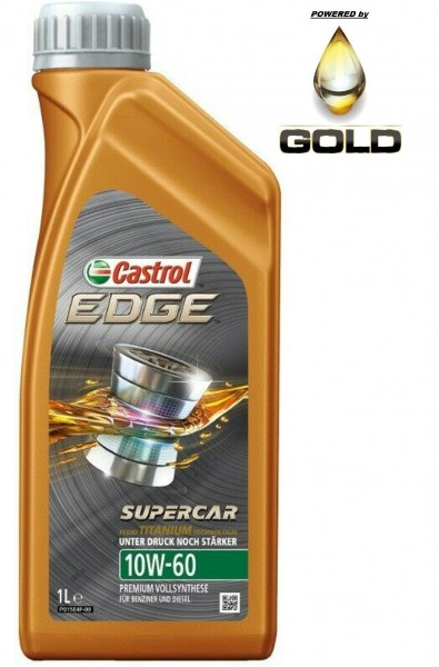 10W 60 Castrol Edge Supercar